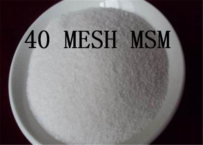 40 MESH MSM Joint Health Powder Methyl Sulfonyl Methane 67 71 0 Dimethyl Sulfone