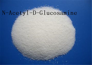 China Food Additive N Acetyl D Glucosamine NAG 7512 17 6 White Crystalline Assay 98% ~ 102% factory