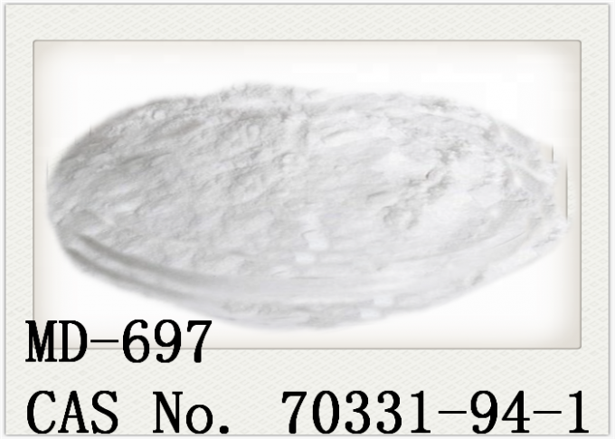 MD-697 Supplement Raw Materials Hindered Phenolic Antioxidants CAS 70331 94 1